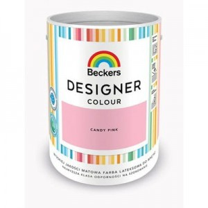 Beckers Designer Colour Candy Pink 5L
