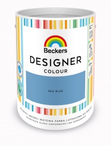 Beckers Designer Colour Sea Blue 5L