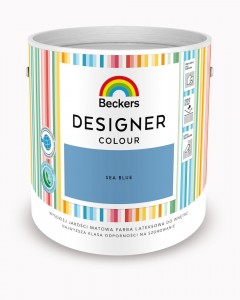Beckers Designer Colour Sea Blue 2,5L