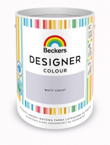 Beckers Designer Colour Misty Violet 5L