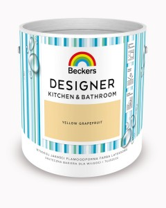 Beckers Designer Kitchen&Bathroom Yellow Grapefruit 2,5L
