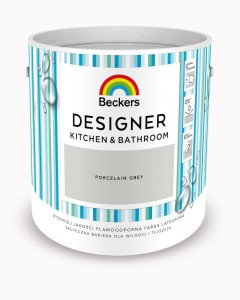 Beckers Designer Kitchen&Bathroom Porcelain Grey 2,5L